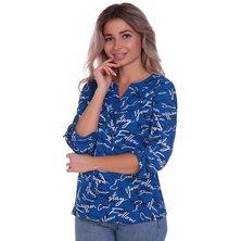 Блузка арт. 16-0706 Синий