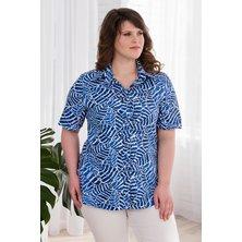 Рубашка арт. 19-0451 Синий