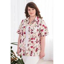 Рубашка арт. 19-0451 Молочный