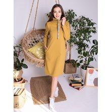 Платье арт. 17-0046 Горчичный