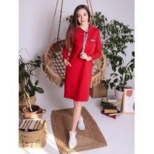 Платье арт. 17-0046 Красный