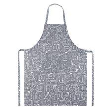 """Фартук """"Правила кухни"""" Серый"""