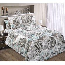 """Комплект постельного белья """"Белый тигр"""""""