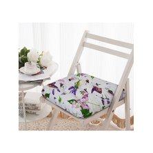 "Подушка на стул ""Лавандовый букет"""