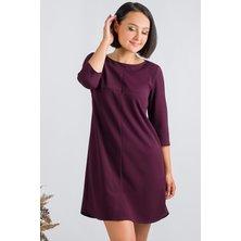 Платье арт. 19-0235 Баклажан