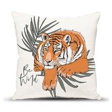 "Подушка ""Дикий тигр"""