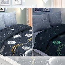 """Комплект постельного белья """"Галактика"""" (Светится в темноте)"""