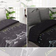 """Комплект постельного белья """"Лондон"""" (Светится в темноте)"""