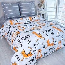 """Комплект постельного белья """"Йога тигры"""""""