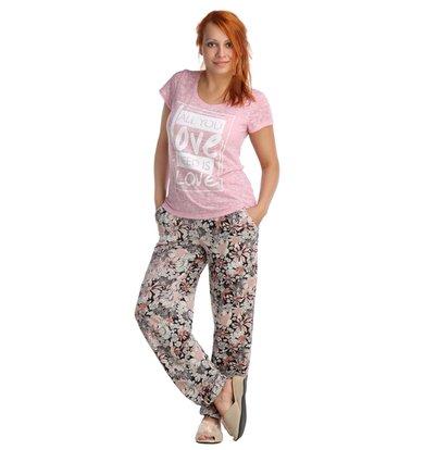 Жен. футболка арт. 16-0026 Розовый р. 44