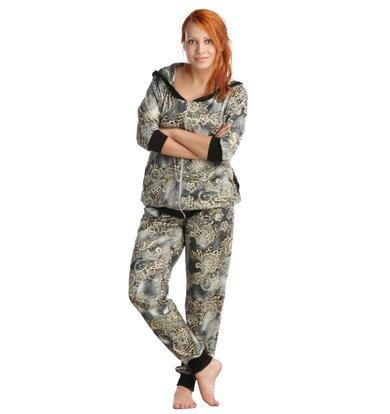 Жен. костюм арт. 16-0017 Серый р. 42