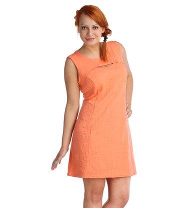 Жен. платье арт. 16-0024 Коралл р. 42