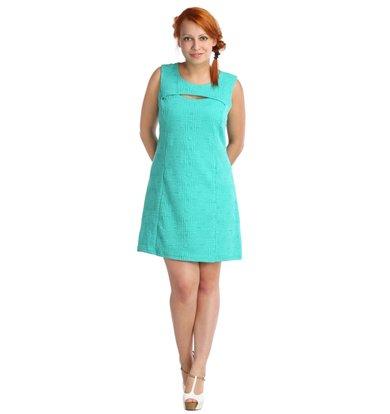 Жен. платье арт. 16-0024 Ментол р. 42