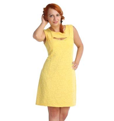 Платье арт. 16-0024 Желтый