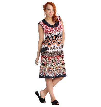 Платье арт. 16-0022 Красный