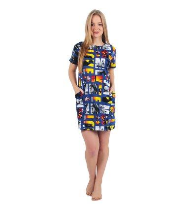 Платье арт. 16-0239 Синий