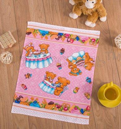 "Вафельное полотенце ""Сладкоежка"" р. 45х60"