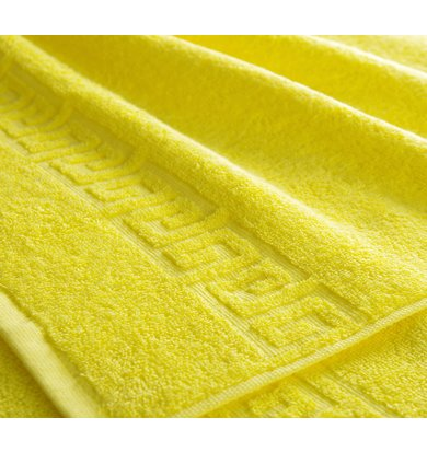 "Полотенце ""Греко"" Ярко-желтый"