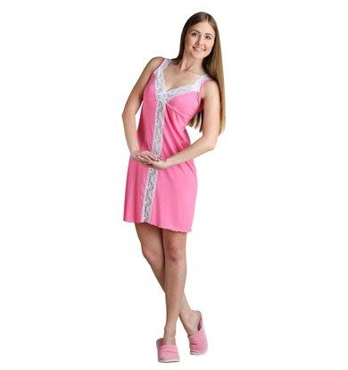 """Женская сорочка """"Алиса"""" Розовый"""