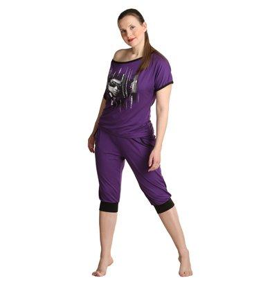 """Женский костюм """"Агнес"""" Фиолетовый"""