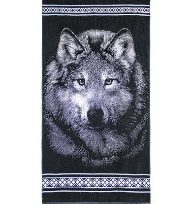 """Полотенце """"Волк"""""""