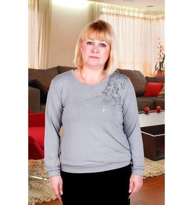 "Женская блуза ""Лира"" Серый"
