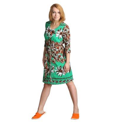 "Женский халат ""Клара"" Зеленый"