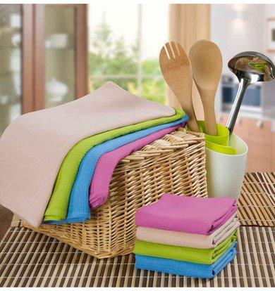 "Вафельное полотенце ""Rainbow"""