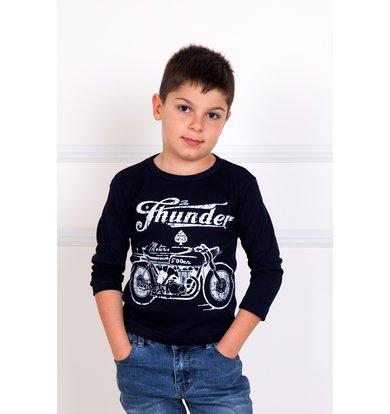 """Детская футболка """"Мото"""" Черный"""