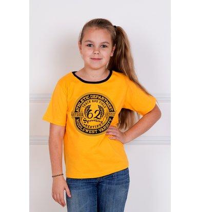 """Детская футболка """"Камелот"""" Желтый"""