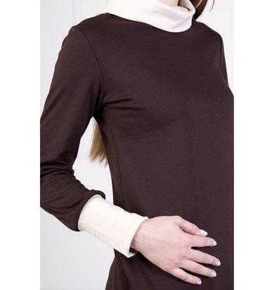"""Женская блуза """"Стайл"""" Темно-коричневый"""