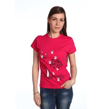 """Женская футболка """"Розовая пантера"""""""