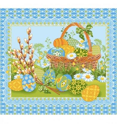 """Вафельное полотенце """"Светлое утро"""" р. 50х60"""