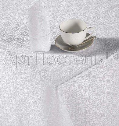 """Кухонные принадлежности """"Шарлотта"""" Белый р. 120х150"""