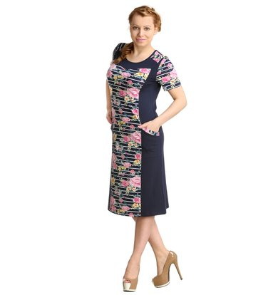 Жен. платье арт. 16-0159 р. 50