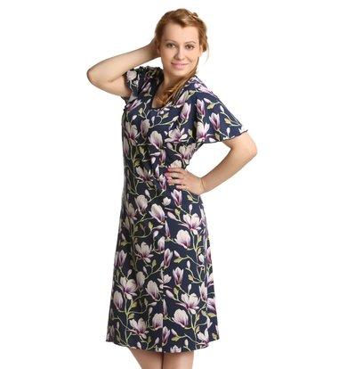 Жен. платье арт. 16-0162 Сиреневый р. 50