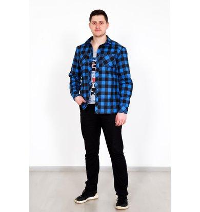 "Муж. рубашка ""Джулиан"" Синий р. 48"
