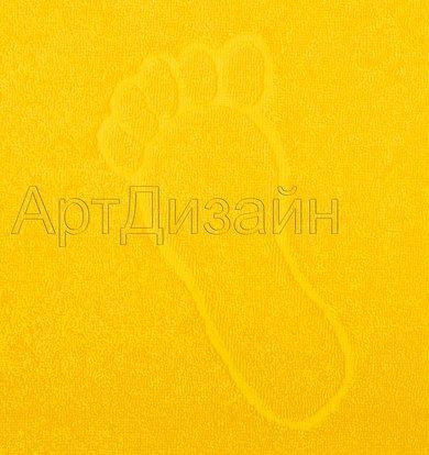 "Полотенце ""Ножки"" Желтый р. 50х70"