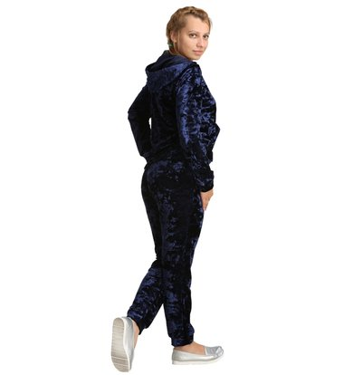 Жен. костюм арт. 16-0217 Темно-синий р. 44
