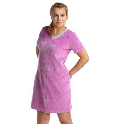 Жен. платье арт. 16-0211 Сиреневый р. 44