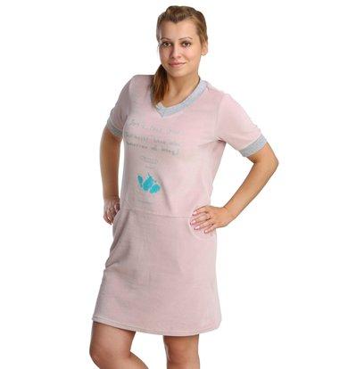 Жен. платье арт. 16-0212 Сухая роза р. 44