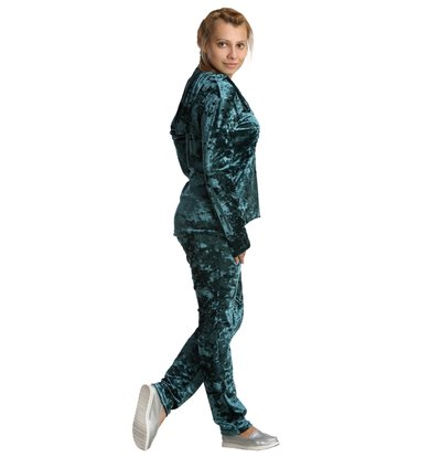 Жен. костюм арт. 16-0236 Изумрудный р. 44