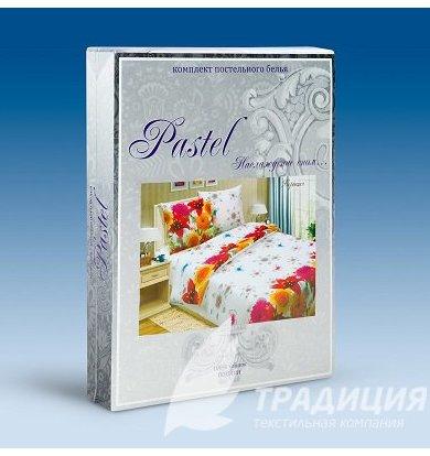 """КПБ """"Горошек"""" Бирюзовый р. 1,5-сп."""