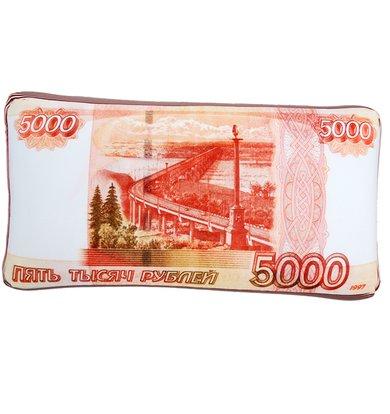 """Игрушка-подушка """"5000 рублей"""" р. 42х22"""