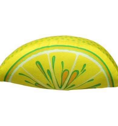 """Игрушка-подушка """"Долька лимона"""" р. 28х13х9"""