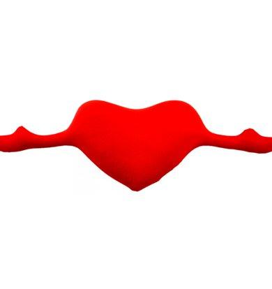 """Игрушка-подушка """"Сердце с руками"""" р. 30х78"""