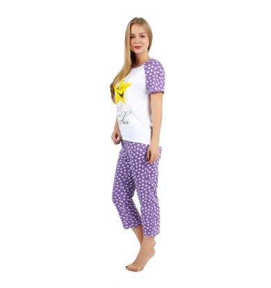 Жен. костюм арт. 16-0240 Фиолетовый р. 54
