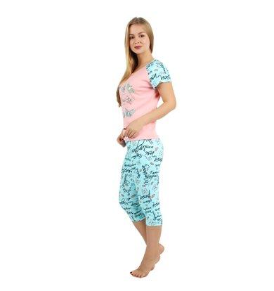 Жен. костюм арт. 16-0241 Светло-коралловый р. 42