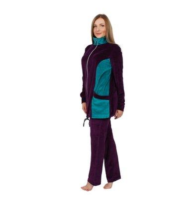 Жен. костюм арт. 16-0253 Баклажан р. 50