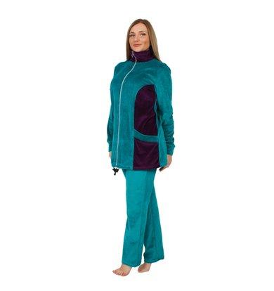 Жен. костюм арт. 16-0253 Зеленый р. 50
